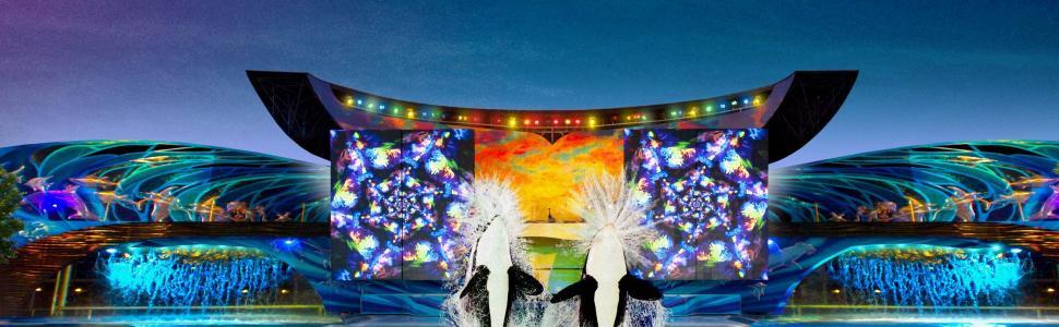 """Shamu's Celebration: Light Up The Night"""