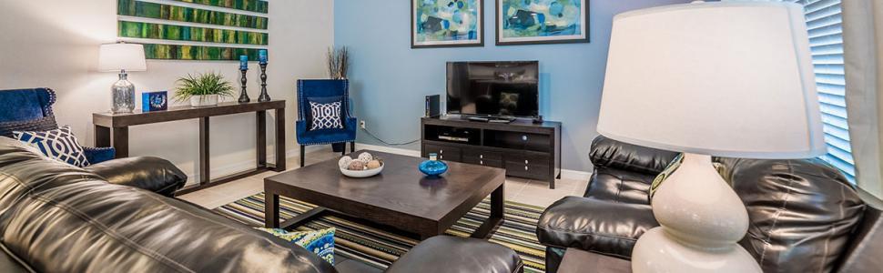 Orlando vacation rental family room