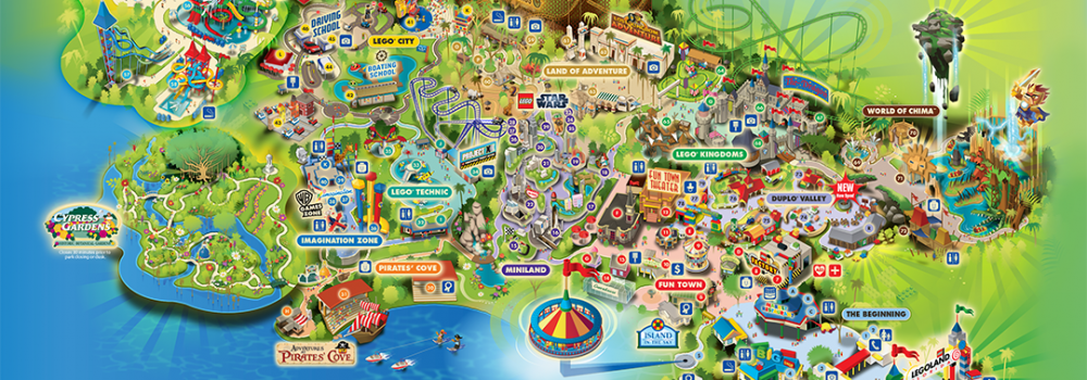 florida map of things to do