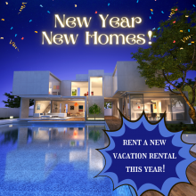 Check Out 2021 Brand New Vacation Rentals